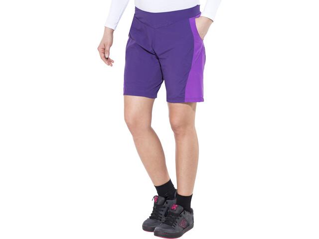 Endura Pulse Spodnie rowerowe Kobiety fioletowy
